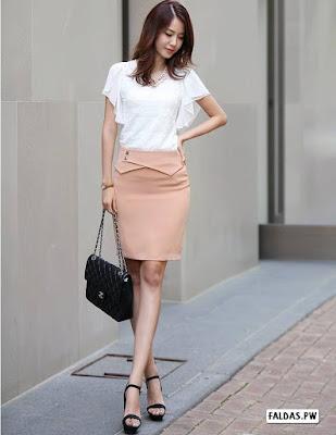 Faldas Rectas
