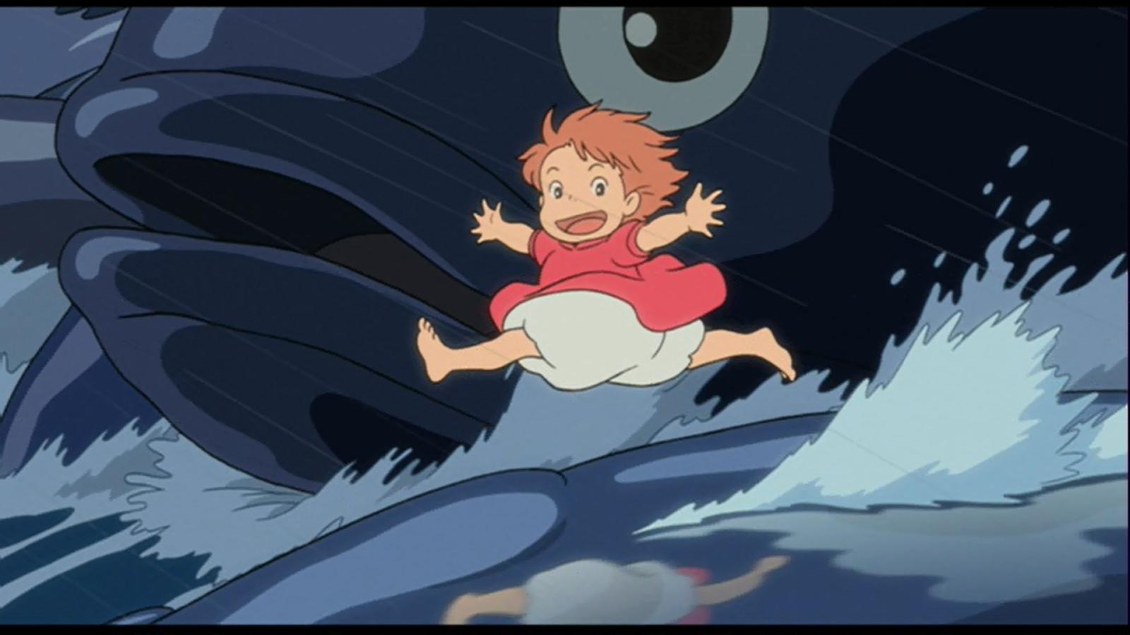 Ponyo (as a little girl)