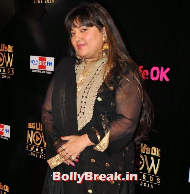 Dolly Bindra, Life OK Now Awards 2014 Red Carpet Pics