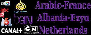 France M6 Arabic AD-Sport Exyu Hayat Albania NL