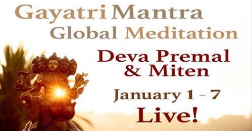 Gayatri Mantra Wereldwijde Meditatie