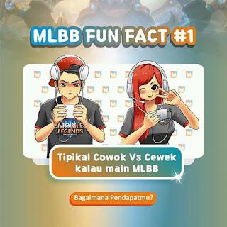 Fakta Pebermain Game Mobile Legends Tipikal Cowok Vs Cewek Saat Main MLBB 11