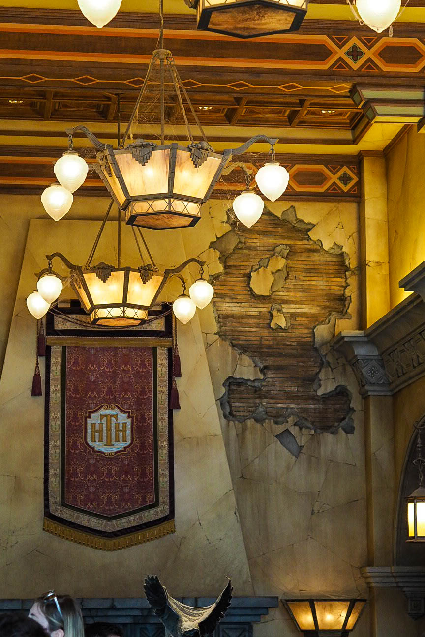 Inside the Twilight Zone Tower of Terror, Disneyland Paris