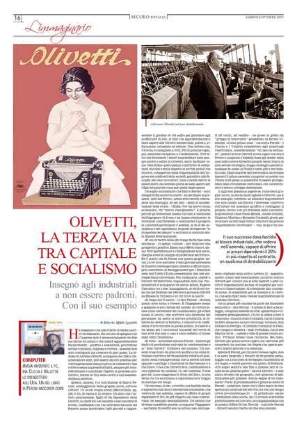 Olivetti, la terza via tra capitale e socialismo