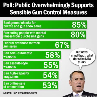 A proposal on effective gun control measures