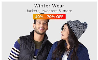 winter wear jackets,sweaters&more up to 40%-70% off
