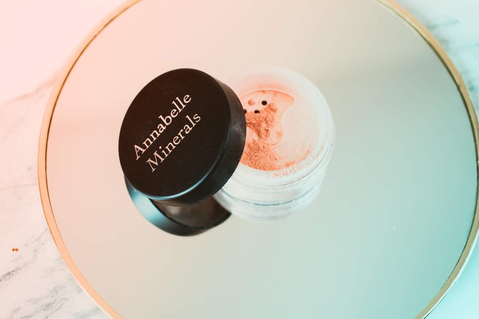 Annabelle Minerals rozświetlacz mineralny diamond glow