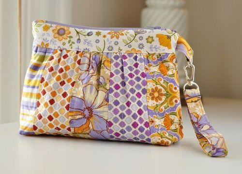 Wristlet Bella Bag Free Quilt Pattern