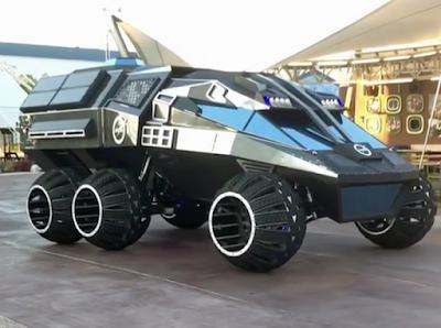 Αυτό είναι το νέο πρωτότυπο όχημα της NASA για τον Άρη!!!