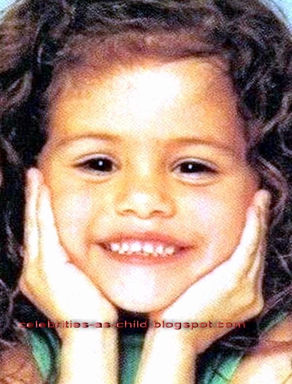 celebrities as a child selena gomez childhood photos