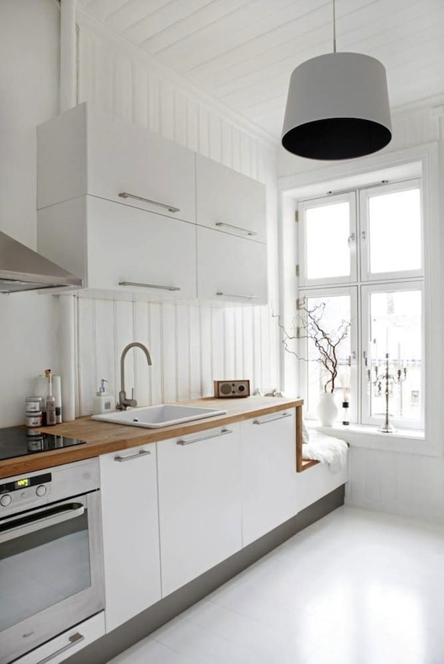 Cómo decorar una cocina pequeña - Cocinas con estilo