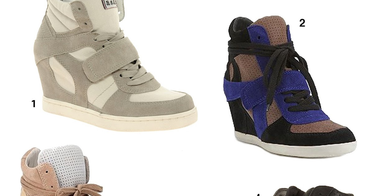 bbd17ef95d33 Sound Style  WEDGE SNEAKERS