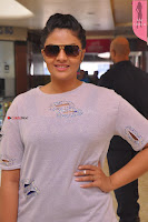 Sri Mukhi in Denim and Jacket at Max Summer Collection Launch  Exclusive 049.JPG