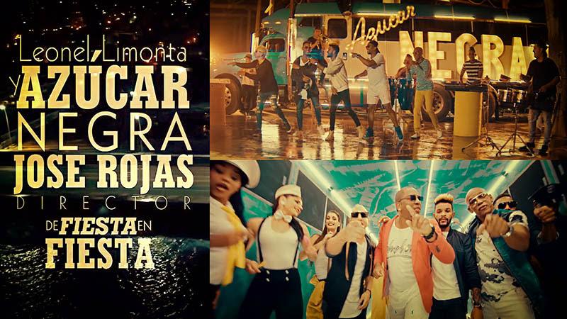 Azúcar Negra - ¨De Fiesta en Fiesta¨ - Videoclip - Dirección: José Rojas. Portal Del Vídeo Clip Cubano - 01