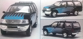 Ford Expedition 97 Revell Snaptite
