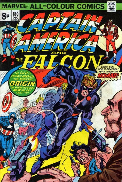 Captain America and the Falcon #180, Nomad