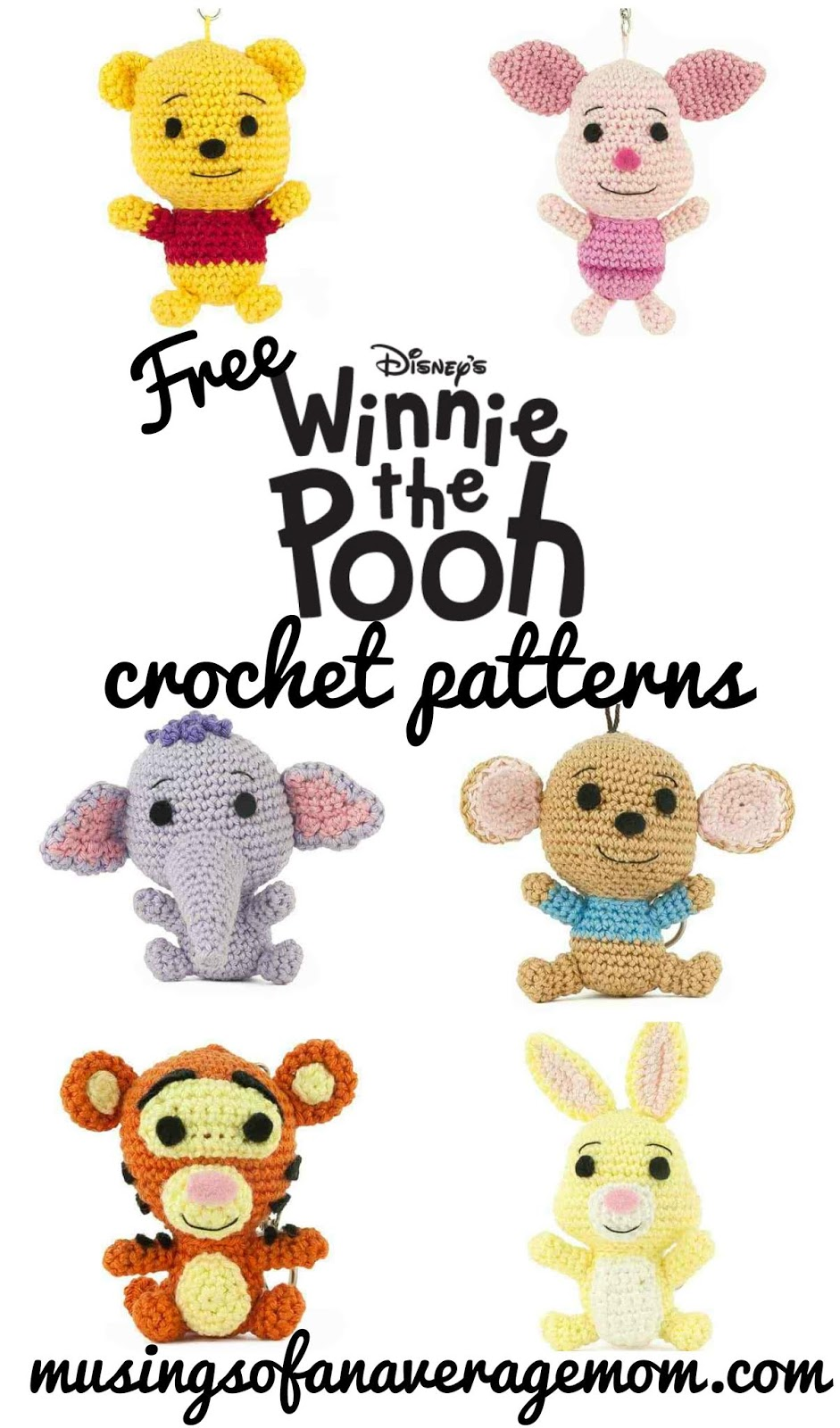 Musings Of An Average Mom Free Winnie The Pooh Crochet Patterns