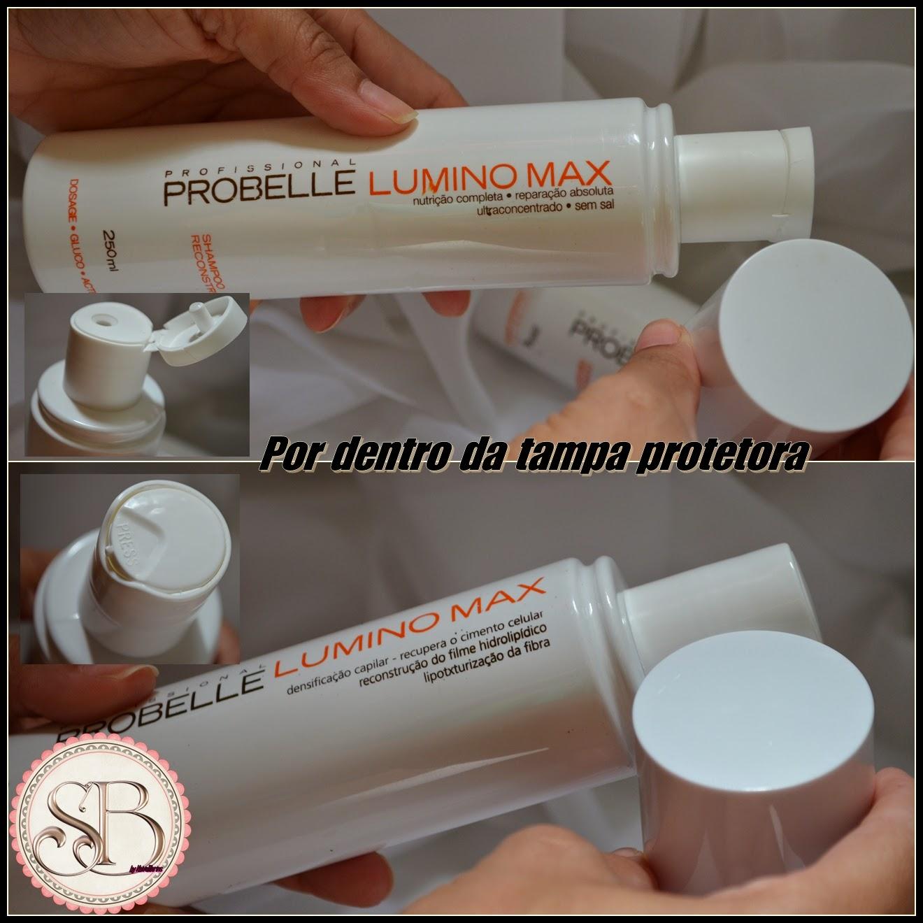 Somando Beleza, Probelle Luminos Max, Joy Perfumaria