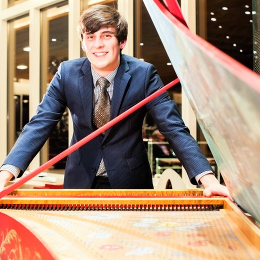 IN REVIEW: Welsh harpsichordist CHRISTOPHER D. LEWIS [Photo © by Christopher D. Lewis]