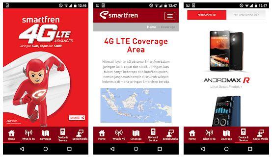 Aplikasi Smartfren 4G LTE Edukasi