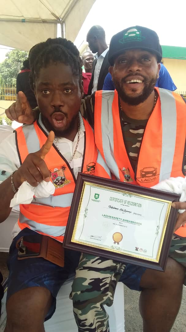 Atawewe, Daddy Showkey, Yinka Adebayo Others Become Safety Ambassador For LACVIS
