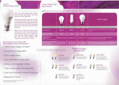 Keunggulan Lampu Philips LED