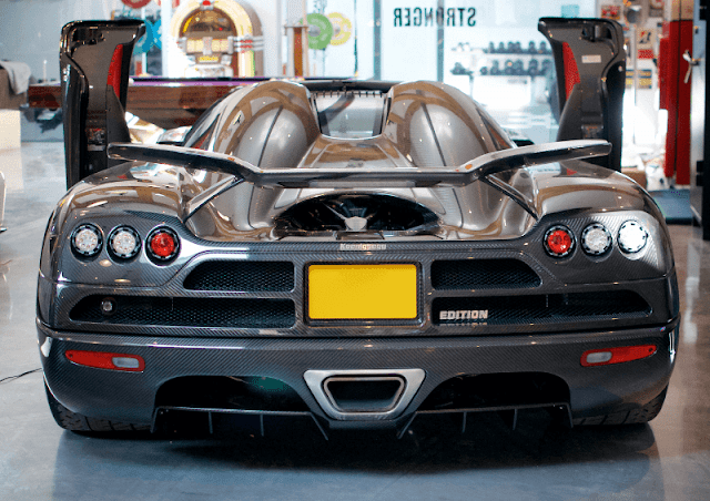 Koenigsegg CCXR Edition rear