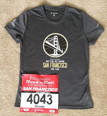 Rock n Roll San Francisco shirt and bib