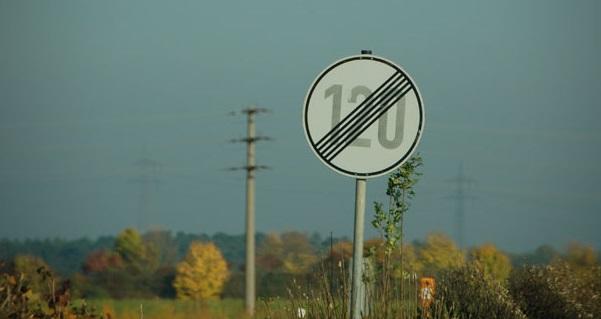 Limite de velocidade nas Autobahns da Alemanha