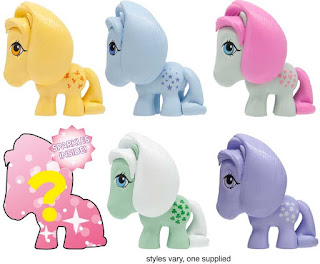 My Little Pony Series 11 Retro G1 Mashems by Basic Fun