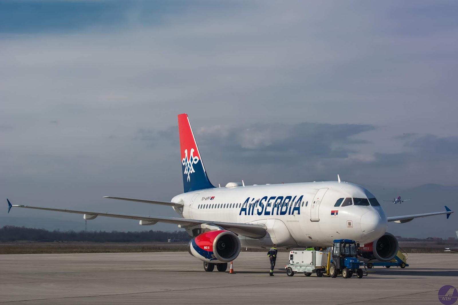 Avionske Karte Air Serbia.Fly From Nis Air Serbia Om Direktno Iz Nisa Do 12 Evropskih