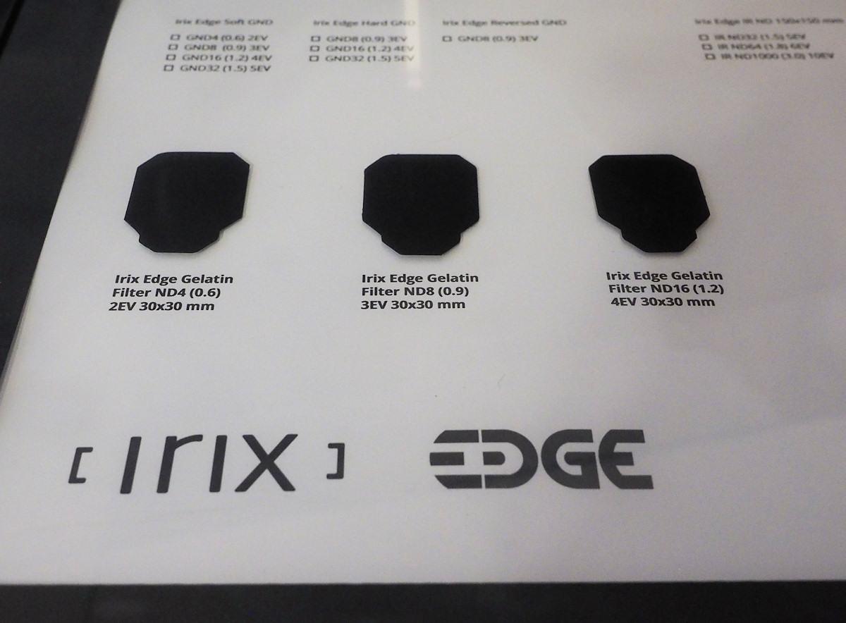 Фильтры Irix Edge