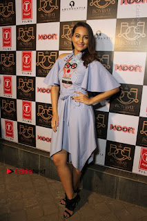 Actress Sonakshi Sinha at the Song Launch of Film Noor  0045.JPG