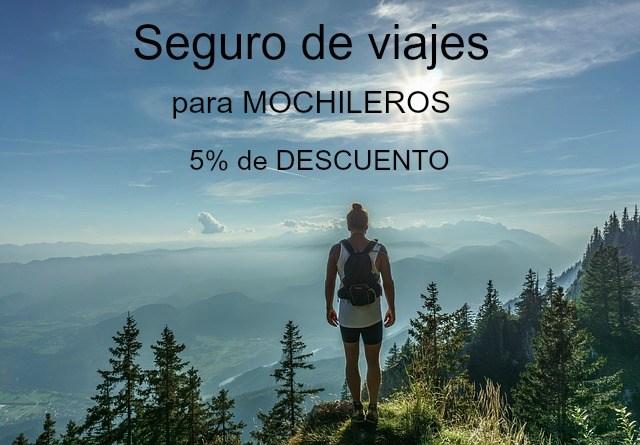 Descuento del 5% en tu seguro de viajes mochilero - Iati Seguros