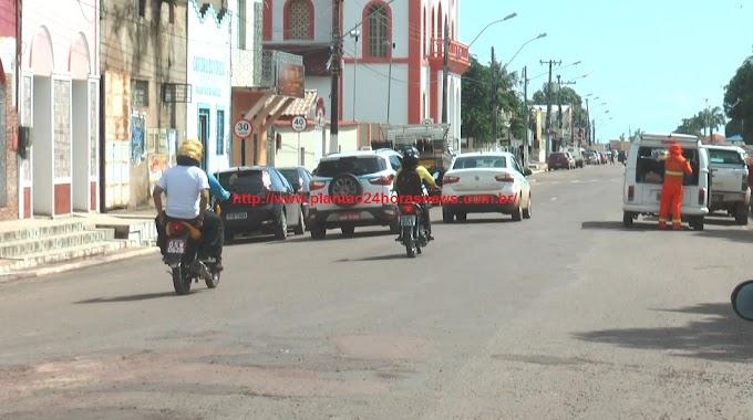 VEREADOR JÚNIOR PIRES DEFENDE A CRIAÇÃO DE UM CORREDOR EXCLUSIVO PARA CAMINHÕES E CARRETAS NA ÁREA URBANA DE ITAITUBA.