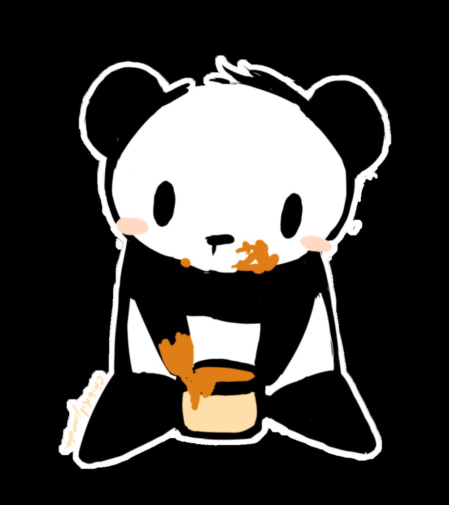 pink panda by chibilittlepanda on deviantart