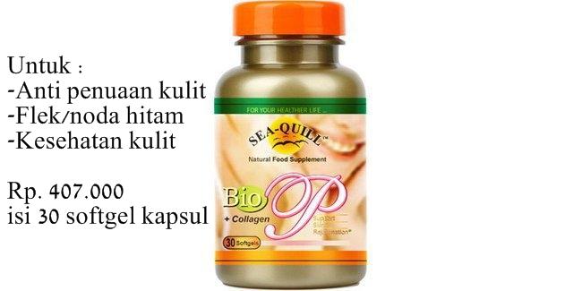 Sea Quill Bio P Suplemen Kulit Anti Penuaan dan Flek Hitam