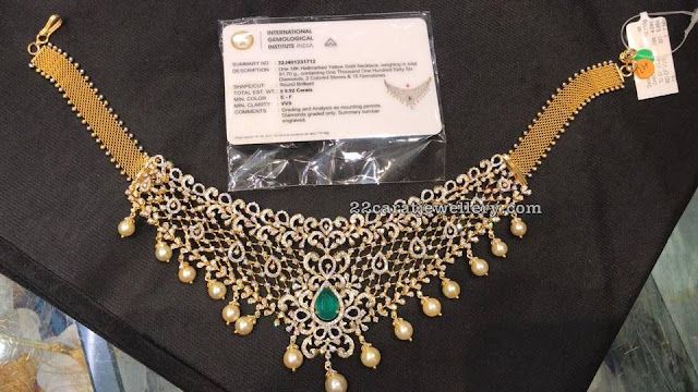 9 Carat Diamond Necklace