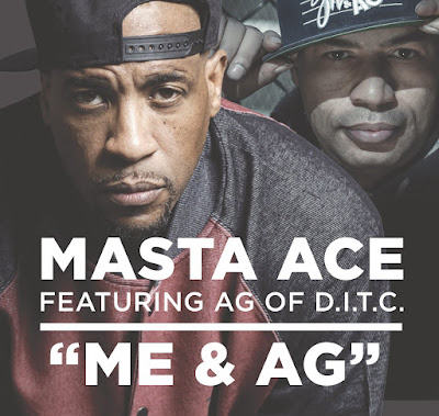 Masta Ace & AG - Me & AG (Single) [2016]