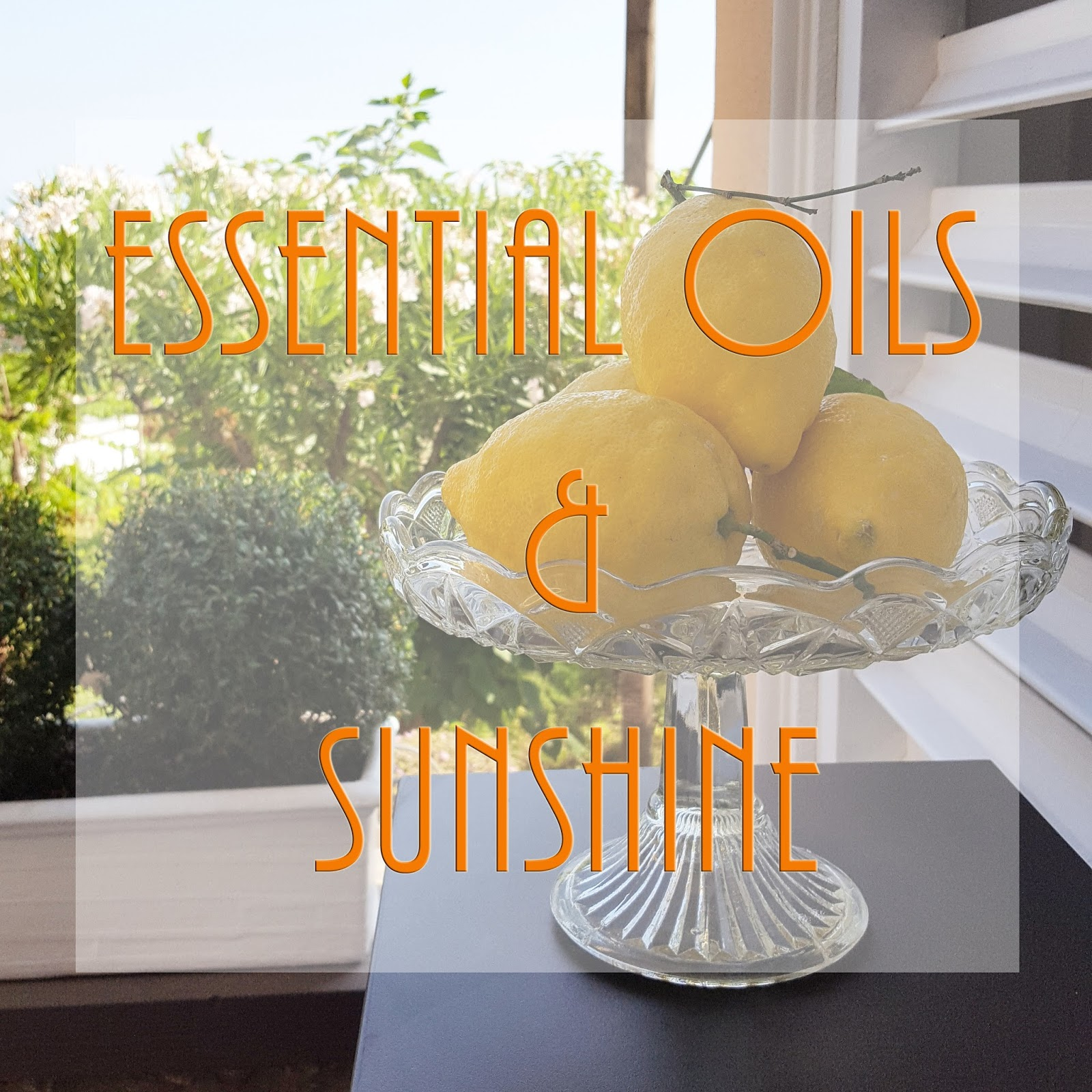 essential oils and sun sensitivity