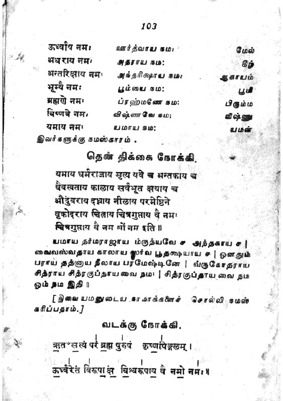 Samithadhanam mantras