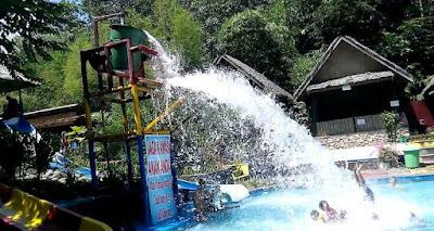 Baruh Bunga Water Park, Waki, Barabai