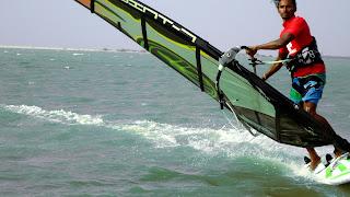 Windsurfen Kalpitiya Sri Lanka