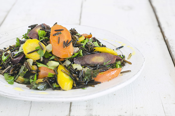 Wild Rice and Carrots from The Migraine Relief Plan by Stephanie Weaver