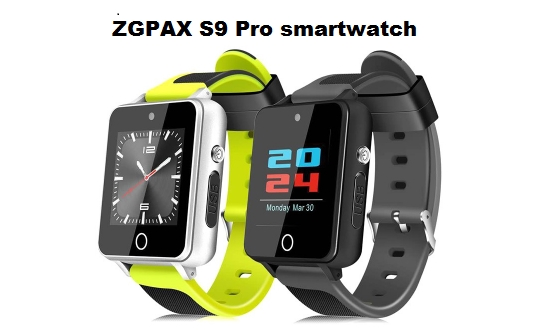 ZGPAX S9 Pro 3G Android Smartwatch Phone