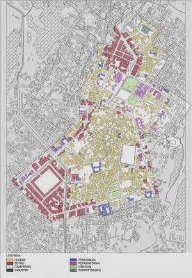 Contoh Peta Tata Guna Lahan Perkotaan