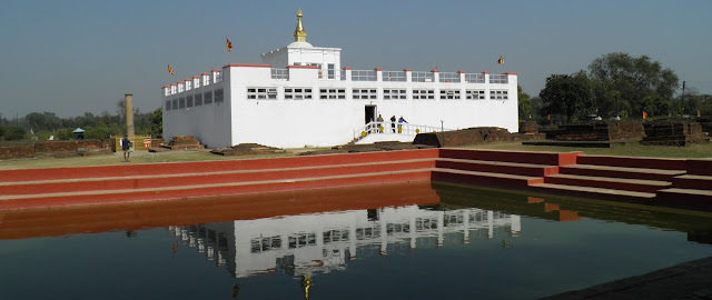 Birthplace of lord Buddha Lumbini Nepal