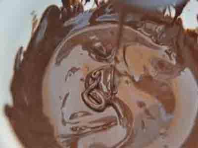 صابلي بالمربى والشوكولاته روعة