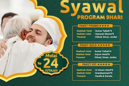 Paket Umroh Syawal 2019