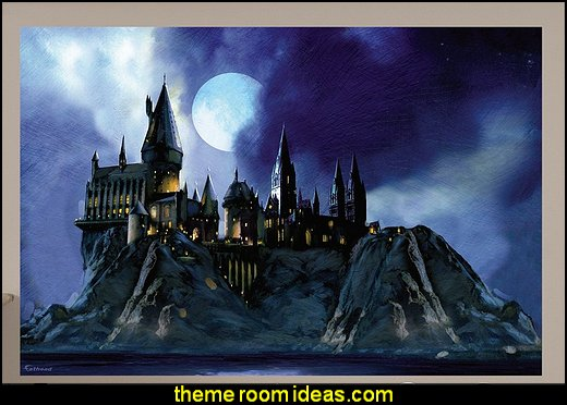 Hogwarts Castle wall Mural harry potter bedroom wall decorations